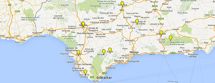 Andalucia Walking Tours-Guided